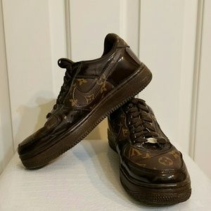Shoes - Rare Nike Air Force louis vuitton  sneakers